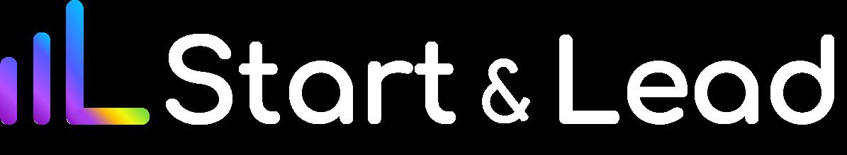 White - Logo Start & Lead